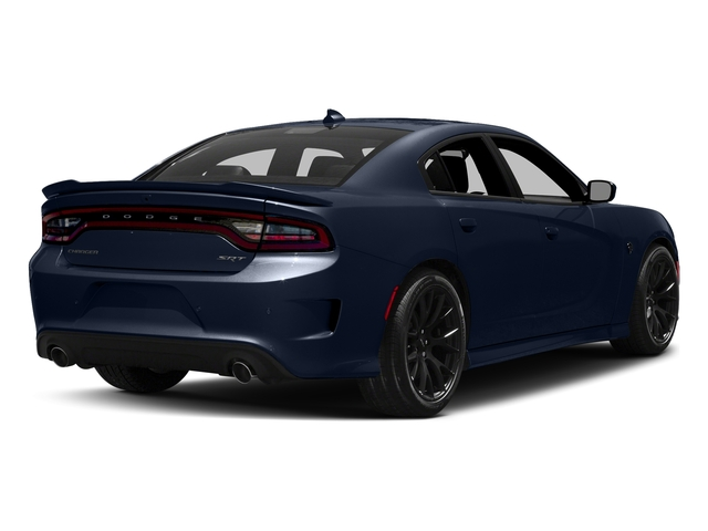 Contusion Blue Pearlcoat 2017 Dodge Charger Pictures Charger Sedan 4D SRT Hellcat V8 Supercharged photos rear view