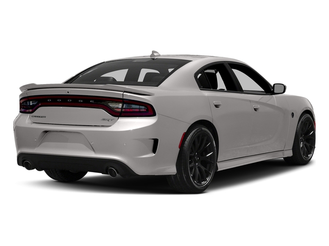 Destroyer Gray Clearcoat 2017 Dodge Charger Pictures Charger Sedan 4D SRT Hellcat V8 Supercharged photos rear view