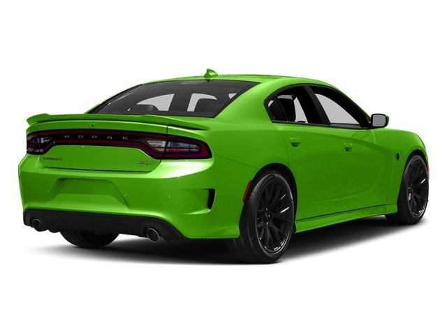 Green Go Clearcoat 2017 Dodge Charger Pictures Charger Sedan 4D SRT Hellcat V8 Supercharged photos rear view