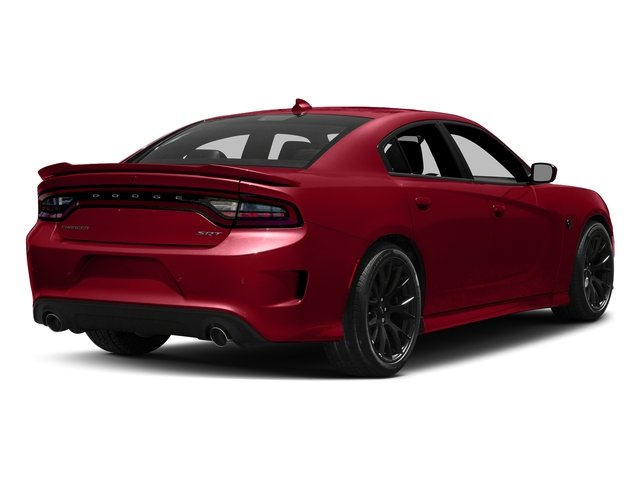 Redline Red Tricoat Pearl 2017 Dodge Charger Pictures Charger Sedan 4D SRT Hellcat V8 Supercharged photos rear view