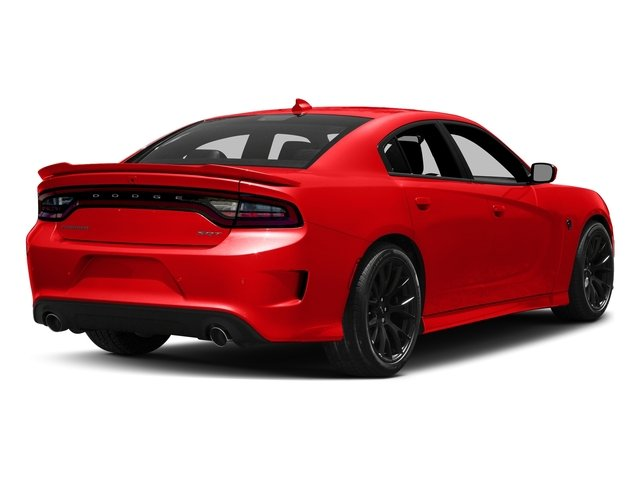 Go Mango 2017 Dodge Charger Pictures Charger Sedan 4D SRT Hellcat V8 Supercharged photos rear view