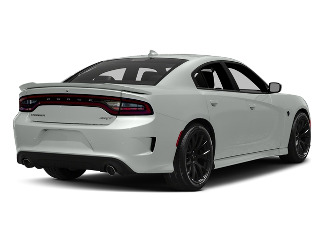 White Knuckle Clearcoat 2017 Dodge Charger Pictures Charger Sedan 4D SRT Hellcat V8 Supercharged photos rear view