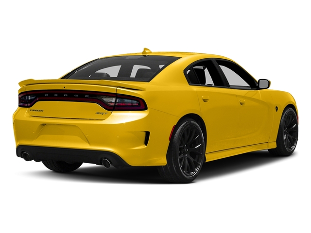 Yellow Jacket Clearcoat 2017 Dodge Charger Pictures Charger Sedan 4D SRT Hellcat V8 Supercharged photos rear view