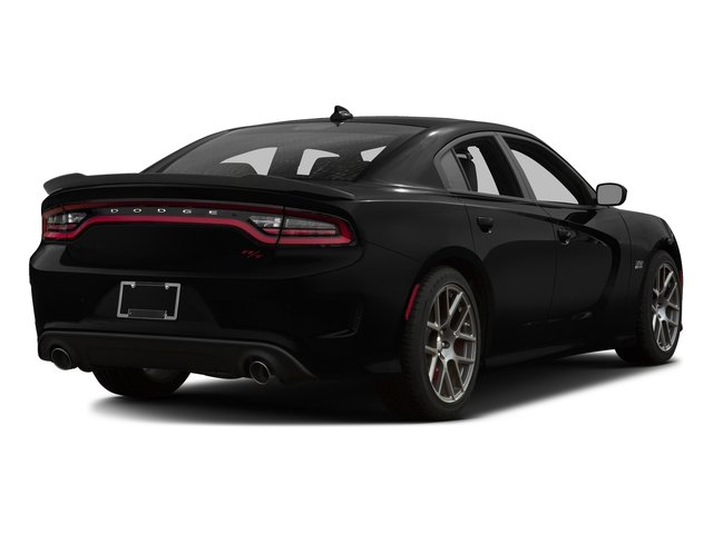Pitch Black Clearcoat 2017 Dodge Charger Pictures Charger Sedan 4D Daytona 392 V8 photos rear view