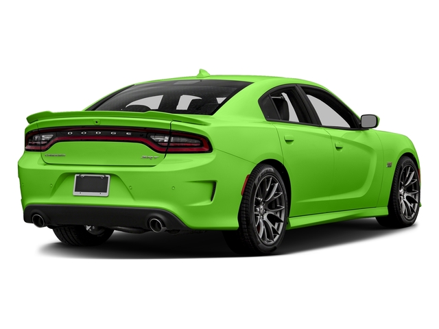 Green Go Clearcoat 2017 Dodge Charger Pictures Charger Sedan 4D SRT 392 V8 photos rear view