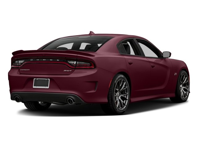 Octane Red Pearlcoat 2017 Dodge Charger Pictures Charger Sedan 4D SRT 392 V8 photos rear view