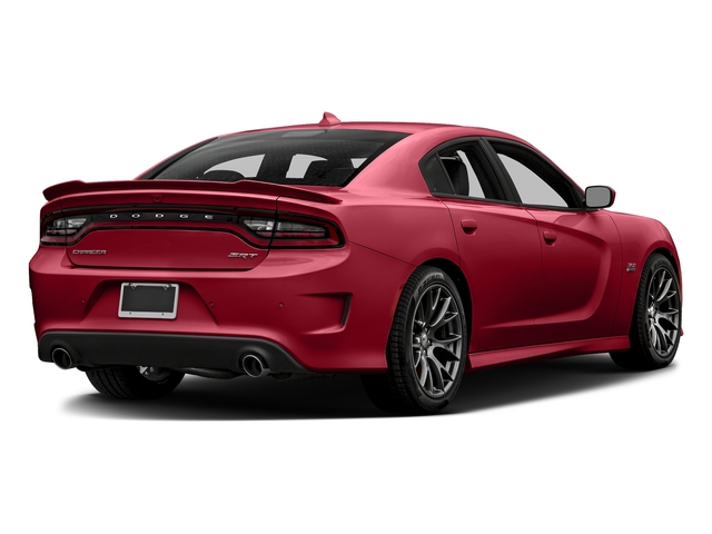 Redline Red Tricoat Pearl 2017 Dodge Charger Pictures Charger Sedan 4D SRT 392 V8 photos rear view