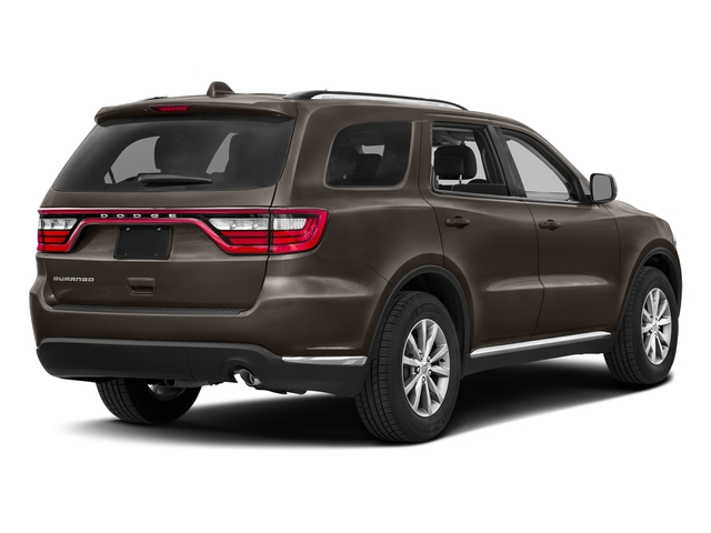 Stout Brown Met. Clearcoat 2017 Dodge Durango Pictures Durango Utility 4D GT AWD V6 photos rear view