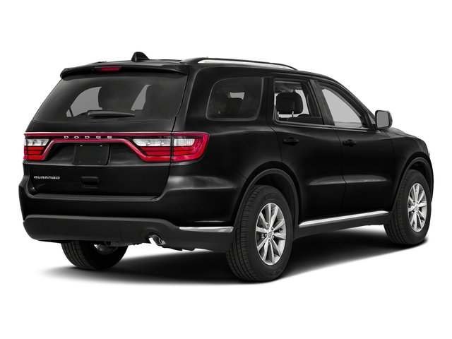 DB Black Crystal Clearcoat 2017 Dodge Durango Pictures Durango Utility 4D SXT AWD V6 photos rear view