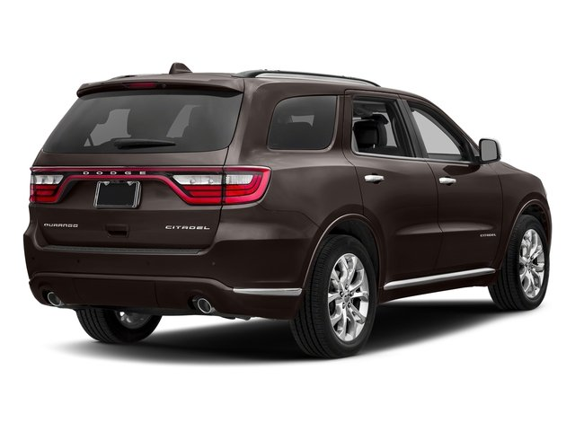 Bomber Brown Pearlcoat 2017 Dodge Durango Pictures Durango Citadel RWD photos rear view