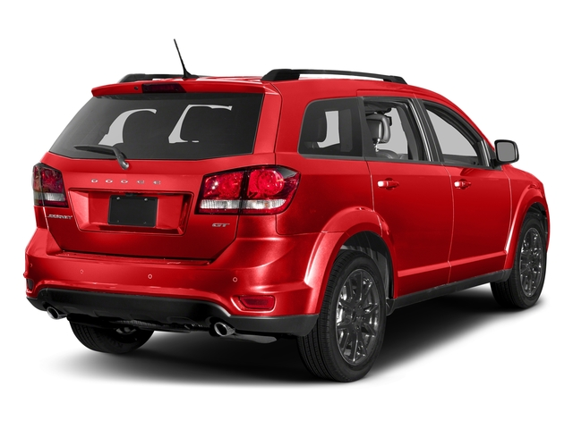Blood Orange Clearcoat 2017 Dodge Journey Pictures Journey GT FWD photos rear view