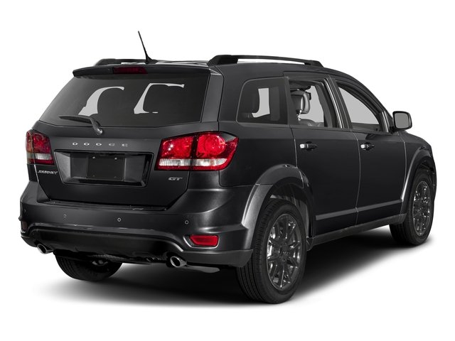 Pitch Black Clearcoat 2017 Dodge Journey Pictures Journey GT FWD photos rear view