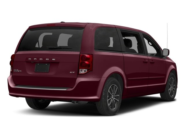 Octane Red Pearlcoat 2017 Dodge Grand Caravan Pictures Grand Caravan GT Wagon Fleet photos rear view