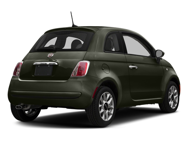 Verde Oliva (Olive Green) 2017 FIAT 500 Pictures 500 Pop Hatch photos rear view