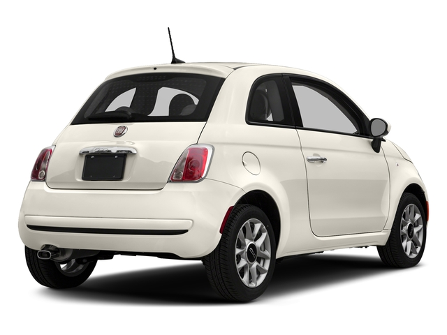 Bianco (White) 2017 FIAT 500 Pictures 500 Pop Hatch photos rear view