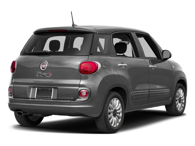Grigio Scuro (Gray Metallic) 2017 FIAT 500L Pictures 500L Pop Hatch photos rear view