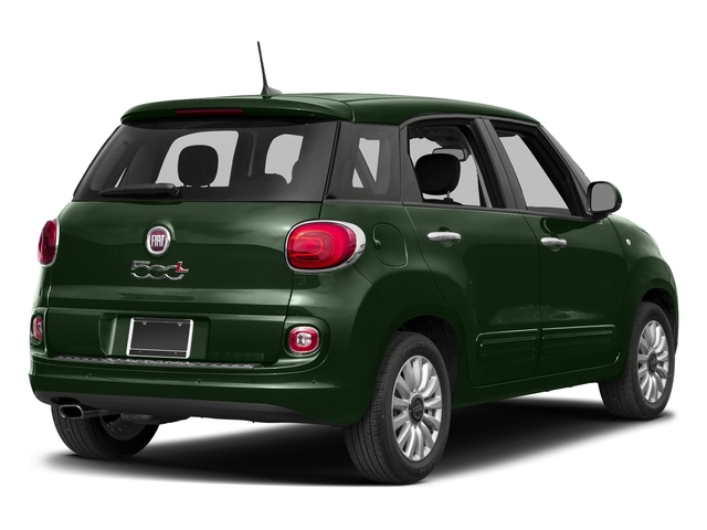 Verde Bosco Perla (Forest Green) 2017 FIAT 500L Pictures 500L Pop Hatch photos rear view
