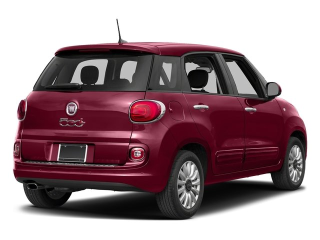 Rosso (Red) 2017 FIAT 500L Pictures 500L Pop Hatch photos rear view
