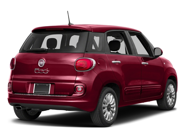 Rosso Perla (Deep Lava Red Pearl) 2017 FIAT 500L Pictures 500L Pop Hatch photos rear view