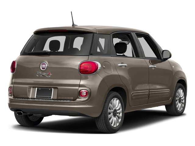 Mocha Latte 2017 FIAT 500L Pictures 500L Pop Hatch photos rear view