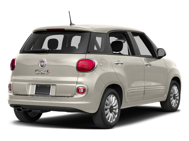 Bianco (White) 2017 FIAT 500L Pictures 500L Pop Hatch photos rear view