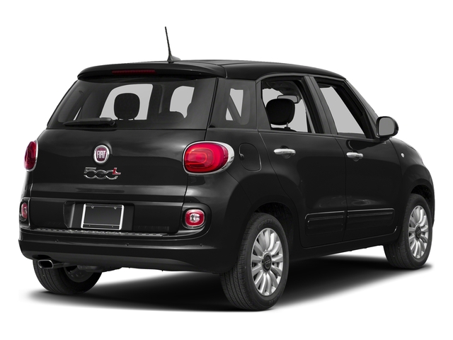 Nero (Black) 2017 FIAT 500L Pictures 500L Pop Hatch photos rear view