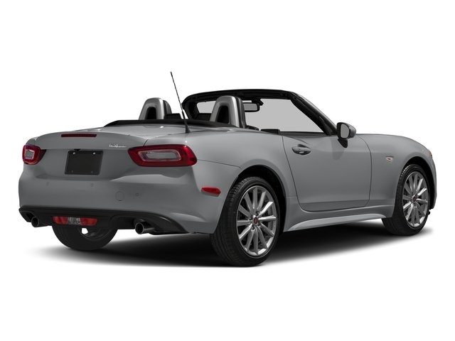 Grigio Argento (Aluminum) 2017 FIAT 124 Spider Pictures 124 Spider Lusso Convertible photos rear view