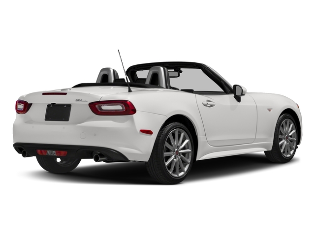 Bianco Gelato White 2017 FIAT 124 Spider Pictures 124 Spider Lusso Convertible photos rear view