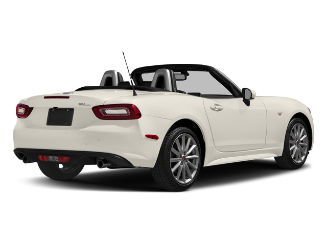 Bianco Perla (Tri-Coat White) 2017 FIAT 124 Spider Pictures 124 Spider Lusso Convertible photos rear view