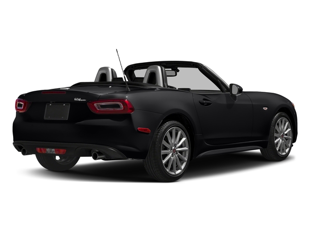 Nero Cinema Jet Black 2017 FIAT 124 Spider Pictures 124 Spider Lusso Convertible photos rear view