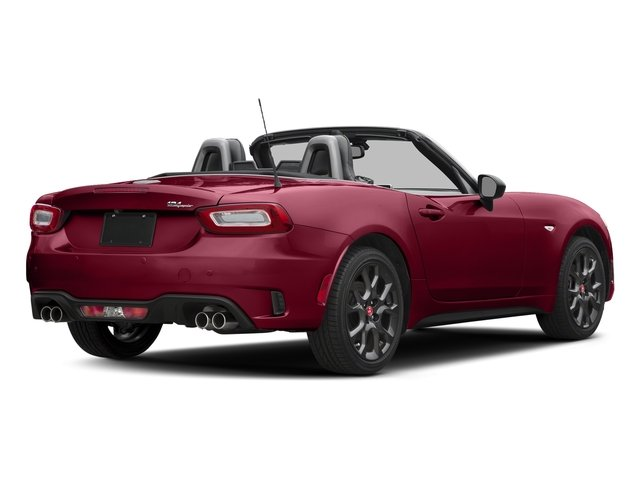 Rosso Red 2017 FIAT 124 Spider Pictures 124 Spider Conv 2D Elaborazione Abarth I4 Turbo photos rear view