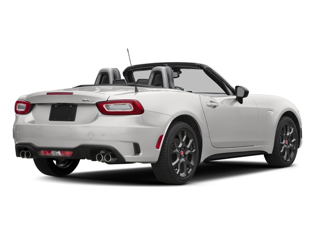 Bianco Gelato White 2017 FIAT 124 Spider Pictures 124 Spider Conv 2D Elaborazione Abarth I4 Turbo photos rear view