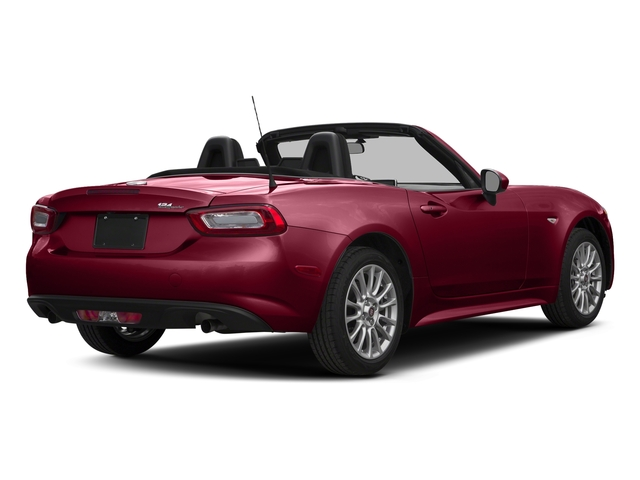 Rosso Red 2017 FIAT 124 Spider Pictures 124 Spider Convertible 2D Classica I4 Turbo photos rear view