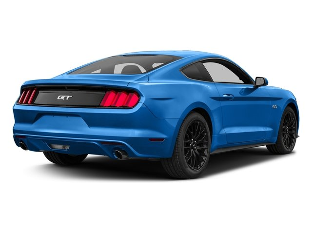 Grabber Blue 2017 Ford Mustang Pictures Mustang Coupe 2D GT V8 photos rear view