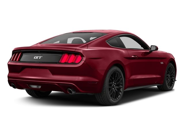 Ruby Red Metallic Tinted Clearcoat 2017 Ford Mustang Pictures Mustang Coupe 2D GT V8 photos rear view