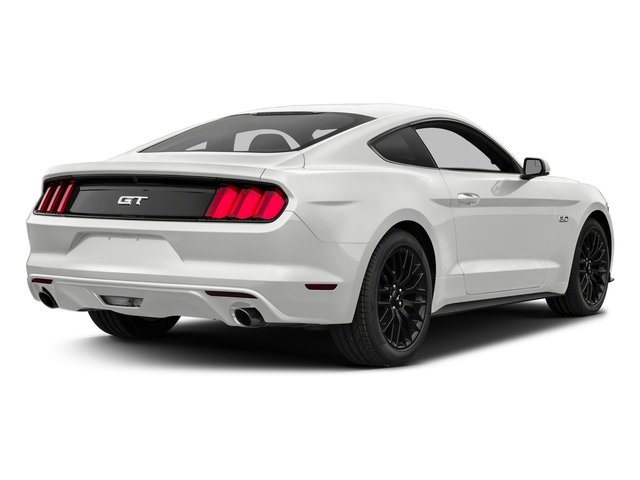 Oxford White 2017 Ford Mustang Pictures Mustang Coupe 2D GT V8 photos rear view