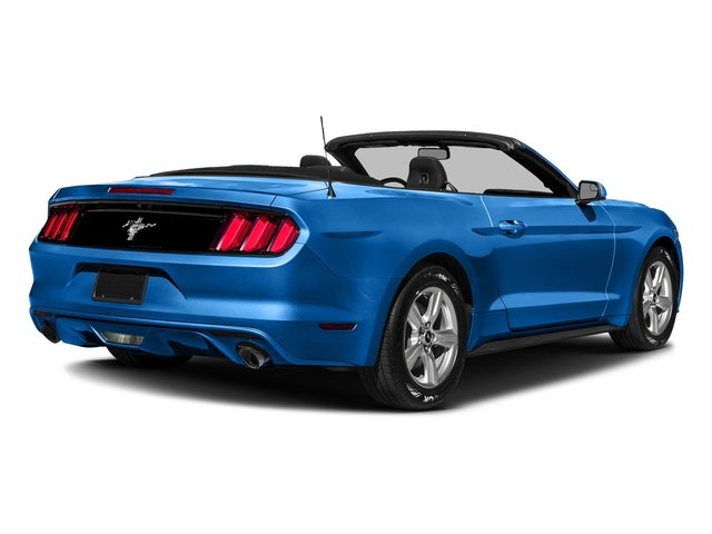 Grabber Blue 2017 Ford Mustang Pictures Mustang Convertible 2D V6 photos rear view