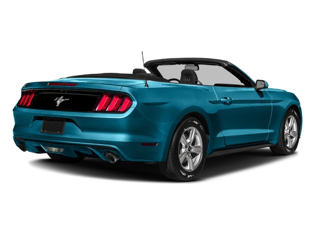 Lightning Blue Metallic 2017 Ford Mustang Pictures Mustang Convertible 2D V6 photos rear view
