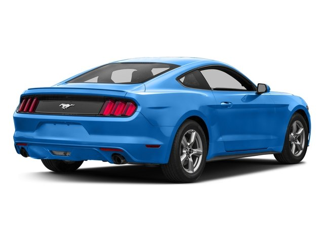 Grabber Blue 2017 Ford Mustang Pictures Mustang Coupe 2D EcoBoost I4 Turbo photos rear view