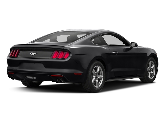 Shadow Black 2017 Ford Mustang Pictures Ecoboost Premium Fastback Photos Rear View