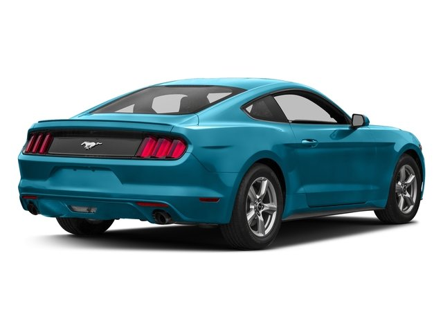 Lightning Blue Metallic 2017 Ford Mustang Pictures Mustang Coupe 2D EcoBoost I4 Turbo photos rear view