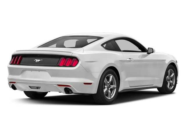 Oxford White 2017 Ford Mustang Pictures Mustang Coupe 2D EcoBoost I4 Turbo photos rear view