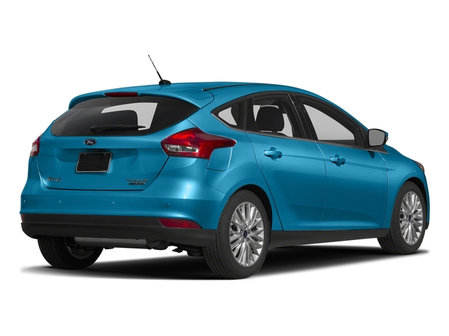 Blue Candy Metallic Tinted Clearcoat 2017 Ford Focus Pictures Focus Hatchback 5D Titanium I4 photos rear view