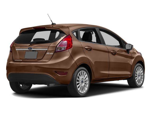 Chrome Copper Metallic 2017 Ford Fiesta Pictures Fiesta Hatchback 5D Titanium I4 photos rear view
