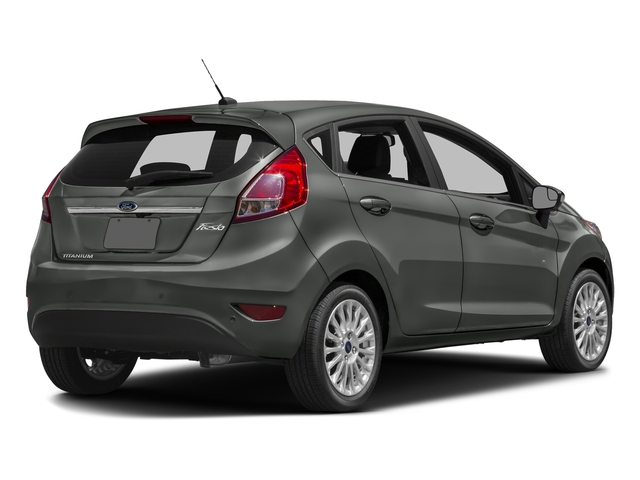 Magnetic Metallic 2017 Ford Fiesta Pictures Fiesta Hatchback 5D Titanium I4 photos rear view