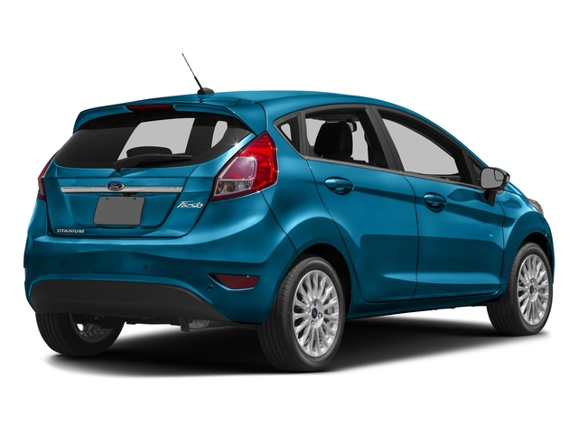 Blue Candy Metallic Tinted Clearcoat 2017 Ford Fiesta Pictures Fiesta Hatchback 5D Titanium I4 photos rear view