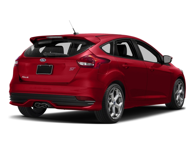 Race Red 2017 Ford Focus Pictures Focus Hatchback 5D ST I4 Turbo photos rear view