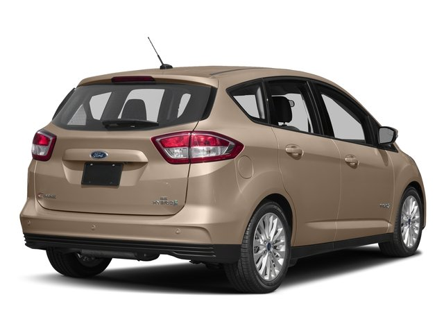 White Gold Metallic 2017 Ford C-Max Hybrid Pictures C-Max Hybrid Hatchback 5D SE I4 Hybrid photos rear view