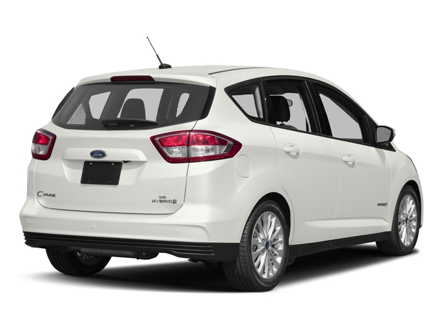 White Platinum Metallic Tri-Coat 2017 Ford C-Max Hybrid Pictures C-Max Hybrid Hatchback 5D SE I4 Hybrid photos rear view