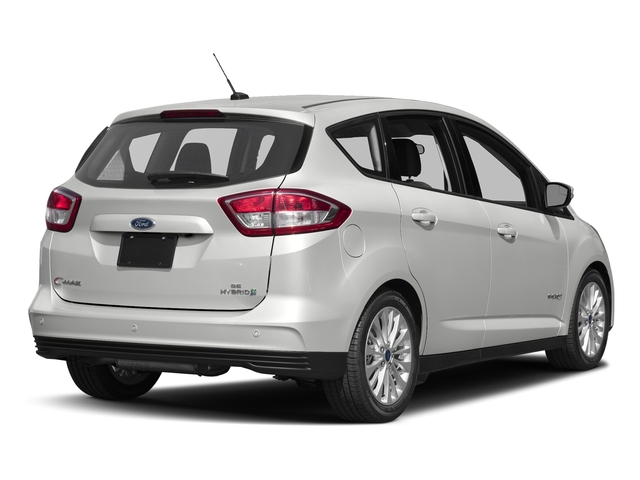 Oxford White 2017 Ford C-Max Hybrid Pictures C-Max Hybrid Hatchback 5D SE I4 Hybrid photos rear view